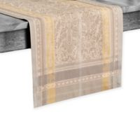 Villeroy & Boch Promenade 72-Inch Table Runner in Grey/Gold