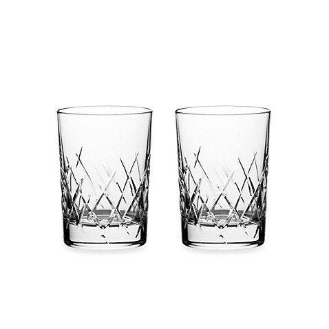 Vera Wang Wedgwood® Duchesse Encore 10-Ounce Double Old Fashioned Glasses (Set of 2)