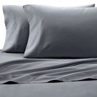 Under The Canopy® HomeGrown™ Organic Queen Sheet Set in Grey
