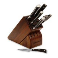 Wusthof® Classic Ikon 7-Piece Walnut Knife Block Set