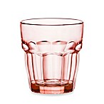Bormioli Rocco Rock Bar Lounge Rocks Glasses in Peach (Set of 6)