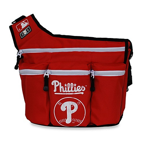 buy diaper dude mlb philadelphia phillies messenger diaper bag from bed bath beyond. Black Bedroom Furniture Sets. Home Design Ideas