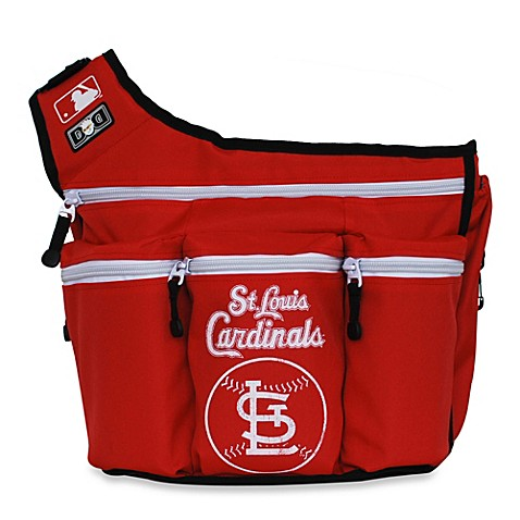 buy diaper dude mlb saint louis cardinals messenger diaper bag from bed bath beyond. Black Bedroom Furniture Sets. Home Design Ideas