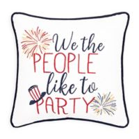 C&F Home™ We The People Embroidered Throw Pillow in Blue