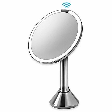 simplehuman 5x sensor vanity mirror bed bath beyond. Black Bedroom Furniture Sets. Home Design Ideas