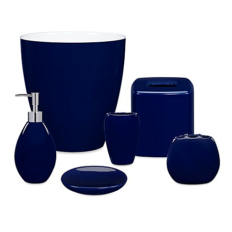 Ordinaire Wamsutta® Elements Navy Bath Ensemble