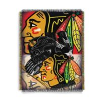NHL Chicago Blackhawks 48-Inch by 60-Inch Tapestry Throw