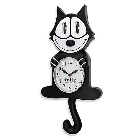 Felix The Cat 3 D Motion Wall Clock Bed Bath Amp Beyond