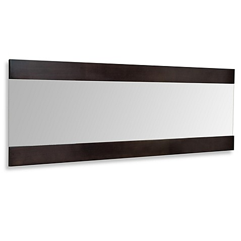Horizontal Wall Mirror horizon horizontal wall mirror - bed bath & beyond