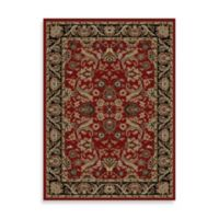 Concord Global Trading Sultanabad 5-Foot 3-Inch x 7-Foot 3-Inch Rug in Red