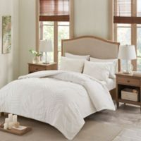 Madison Park Bahari King/California King Comforter Set in White