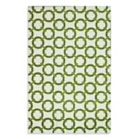 Loloi Charlotte Collection 2-Foot 3-Inch x 3-Foot 9-Inch Indoor Rug in Peridot