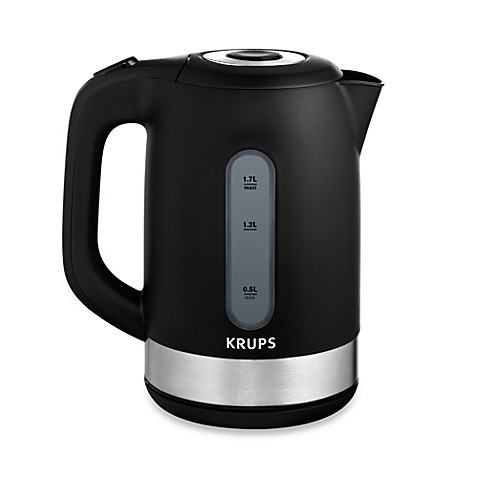 Krups 174 6 Cup Plastic Electric Hot Water Kettle Bed Bath