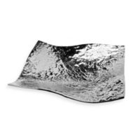 Godinger Lava Round Serving Bowl in Brushed Aluminum