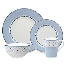 Nikko Blue Brushstroke Dinnerware Collection