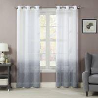 Sherry 84-Inch Grommet Window Curtain Panel Pair in Slate