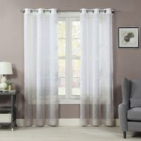 Sherry 84-Inch Grommet Window Curtain Panel Pair in Natural