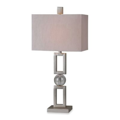 Ren Wil Davos Silver Plated Table Lamp. Buy Matching Table Lamps from Bed Bath   Beyond