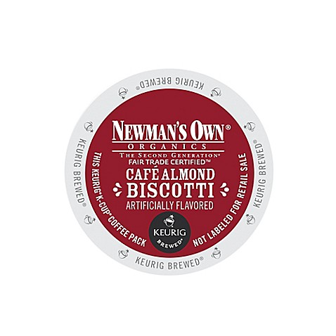 Newman S Own Cafe Almond Biscotti K Cup