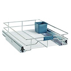 Bed Bath Beyond Chrome Sliding Cabinet Organizer