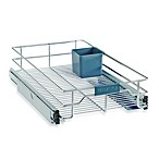 Real Simple® Sliding Under-Cabinet 11-Inch Organizer in Chrome