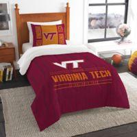 Virginia Tech Modern Take Twin Comforter Set