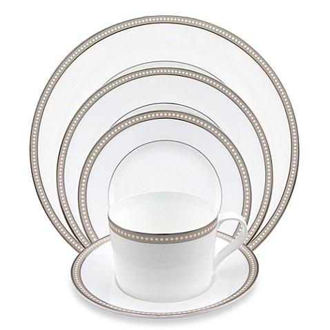 Nikko Oyster Pearl 5-Piece Dinnerware Set - Bed Bath & Beyond