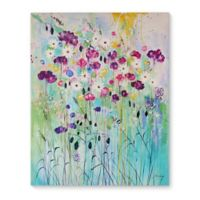 Floral Play 8-Inch x 10-Inch Canvas Wall Art