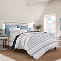 Nautica® Locklear Twin Duvet Cover Set in Mineral