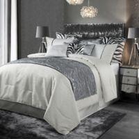 HiEnd Accents Celeste King Comforter Set in Grey
