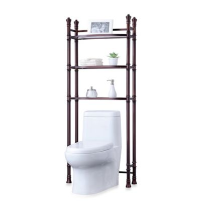 monaco no tools bath tagre in oil rubbed bronze