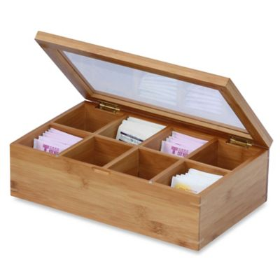 Wood Tea Box Bed Bath Beyond
