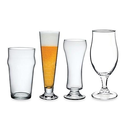 bormioli rocco craft beer glasses set of 4 bed bath. Black Bedroom Furniture Sets. Home Design Ideas