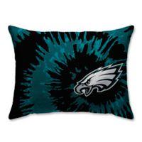 NFL Philadelphia Eagles Plush Tie Dye Standard Bed Pillow