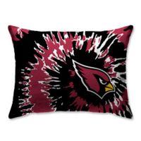 NFL Arizona Cardinals Plush Tie Dye Standard Bed Pillow