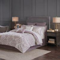 Madison Park Madeline Reversible California King Comforter Set in Purple