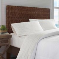 Tommy Bahama® Pineapple Pinstripe Queen Sheet Set in Yellow