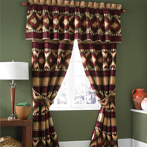 Croscill 174 Navajo Inspired Window Treatments Bed Bath