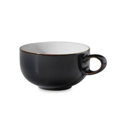 Denby Jet Teacup in Black/White  sc 1 st  Bed Bath \u0026 Beyond & Buy Denby White Dinnerware from Bed Bath \u0026 Beyond