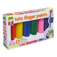 ALEX® Tots First Finger Paint 6-Color Set