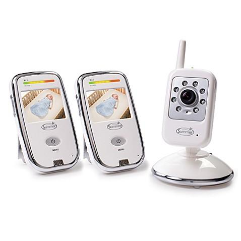 summer infant dual coverage digital color video monitor set buybuy baby. Black Bedroom Furniture Sets. Home Design Ideas