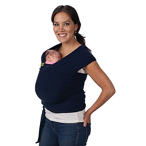 Boba 174 Wrap Baby Carrier In Navy Blue Buybuy Baby