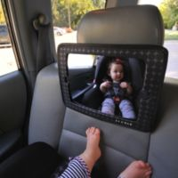 JJ Cole® 2-in-1 Car Back Seat Mirror