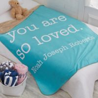 Write Your Own Kids Expressions 50-Inch x 60-Inch Personalized Blanket