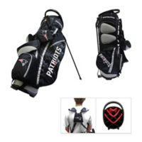 NFL New England Patriots Fairway Stand Golf Bag