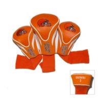 NFL Cleveland Browns 3-Pack Contour Golf Club Headcovers