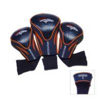 NFL Denver Broncos 3-Pack Contour Golf Club Headcovers