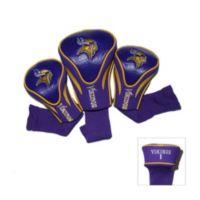 NFL Minnesota Vikings 3-Pack Contour Golf Club Headcovers