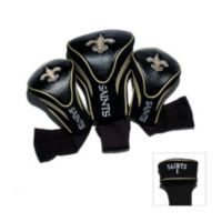 New Orleans Saints 3-Pack Contour Golf Club Headcovers