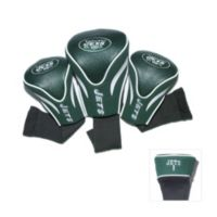 NFL New York Jets 3-Pack Contour Golf Club Headcovers